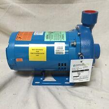 Goulds 3hp Open Dripproof Centrifugal Pump 3ph 1 12 Npt 208 240480v Ac