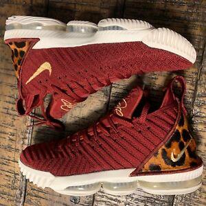 526ef458cba7 Nike Lebron XVI The King -NO BOX LID- SZ  US Men s 10 AO2588 601