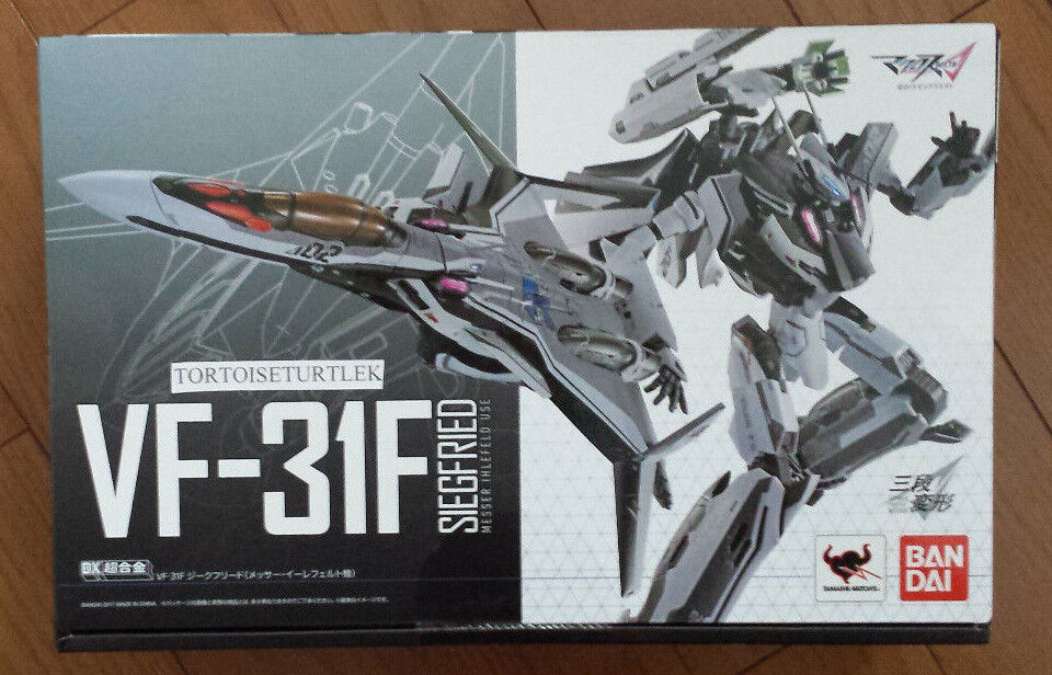 Bandai Dx Chogokin Macross Delta VF-31F Siegfried MESSER Ihlefeld Figura De Acción