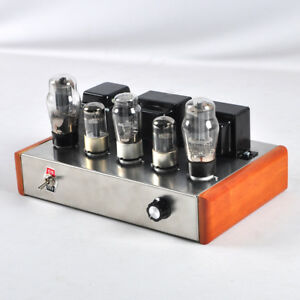 Class A Single Ended 6n8p 6p3p Tube Audio Amplifier 8w 2 Hifi Valve