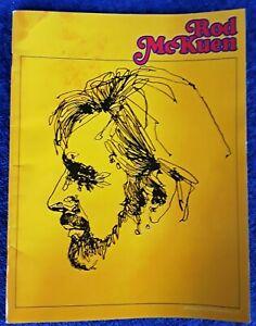 ROD-McKUEN-32-PAGE-CONCERT-PROGRAM-BOOKLET-8-1-2-034-X-11-034-1975