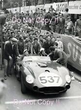 Stirling MOSS & Denis Jenkinson MASERATI 450S MILLE MIGLIA 1957 Fotografia
