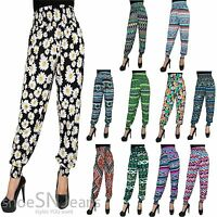 Harem Genie Aladdin Hippy Gypsy Dance Yoga Pants Trousers Baggy Jumpsuit