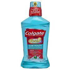 Colgate Total Gum Health Antiplaque Mouthwash, Clean Mint 16.90 oz