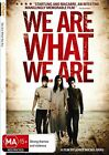 We Are What We Are (DVD, 2011)