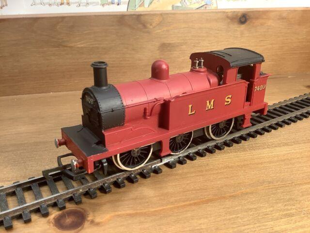 Unboxed Wrenn Railway W2204 R1 0-6-0T London Midland Scottish Crimson No7420 VGC