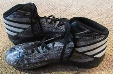 new arrival dba0c b9e6f Adidas Mens Freak MD Snake Football Cleats Black  Gray Size 10.5 B49385