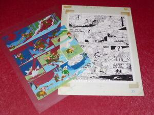 Bd-Marciales-TONY-LAFLAMME-Volapuk-Lamina-Colores-Celuloide-Originales