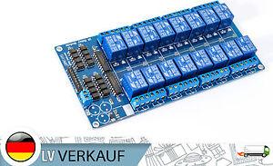 16-Kanal-Relais-Relay-Modul-5V-fuer-Arduino-Raspberry-Pi-PIC-AVR-ARM-MCU