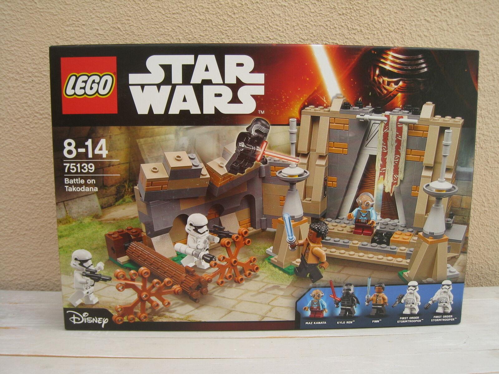 Lego Star Wars La BaGröße de Takodana - 75139 75139 75139 - Neuf et scellé Sealed 90c853