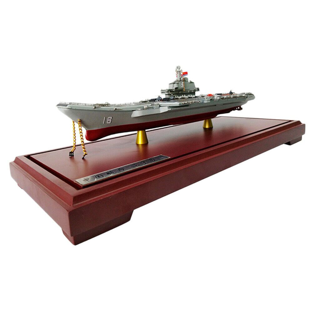 1 1000 Diecast Aircraft Carrier Liaoning Battleship Model Home Decoration
