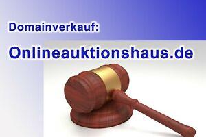 TOP-Domain-www-Onlineauktionshaus-de-Spitzen-Domain-f-Auktionen