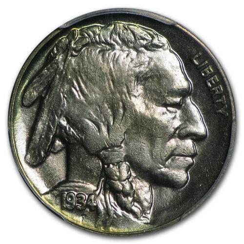 SKU #23892 1934-D Buffalo Nickel MS-64 PCGS