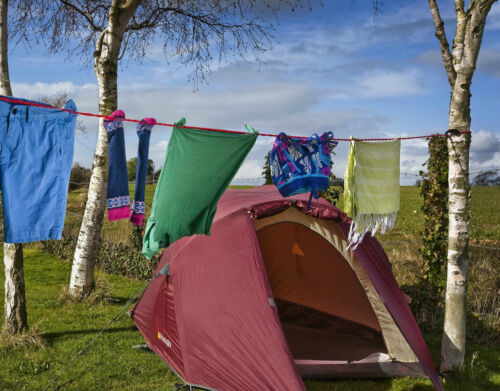 Pegless Travel Clothes Line Clothesline Washing Camping Hanging Men Gift On Sale