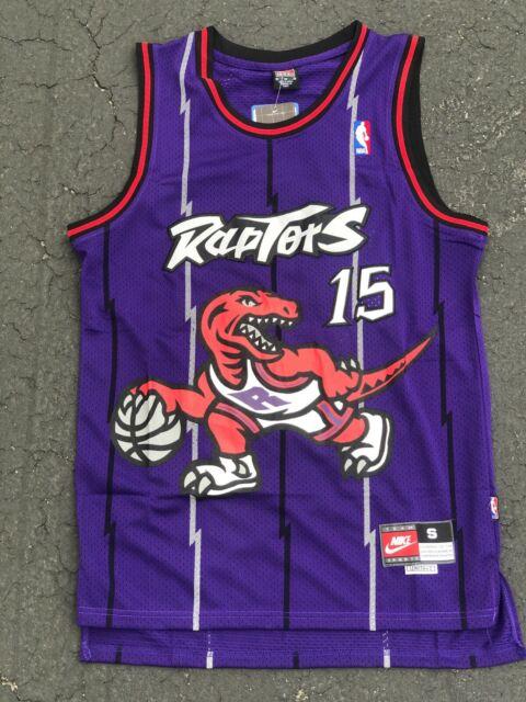 premium selection f55ef a83ad VINCE CARTER #15 Toronto Raptors Swingman throwback Men's Jersey NWT