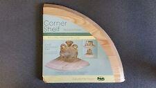 1 Wooden Corner Shelf/Shelves Wood Kitchen/Bath Buyers Love'em Floating Wall 3/4