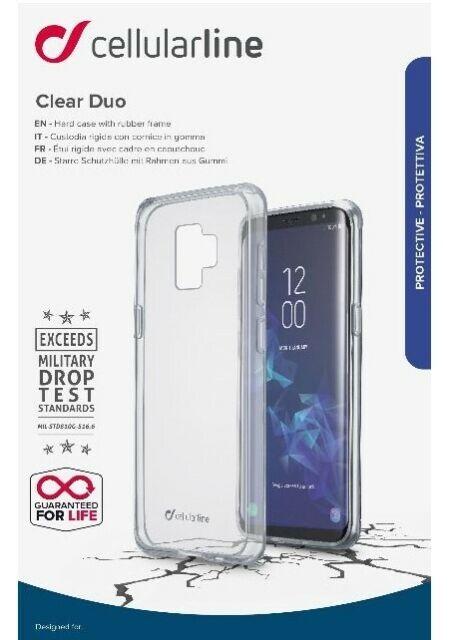Cellularline Stardust - iPhone XR Custodia rigida con bordi in