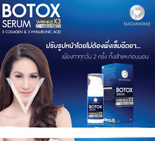 Botox Serum Collagen Hyaluronic Face Lifting VShape Anti Aging Wrinkle Freckle