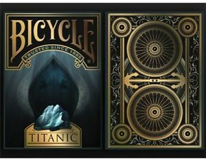 TITANIC DEATH BICYCLE DECK OF PLAYING CARDS BY USPCC MAGIC TRICKS COLLECTOR