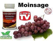 RESVERATROL MOINSAGE 100% NATURAL ANTI AGING con Polifenoles Salud  y Energia