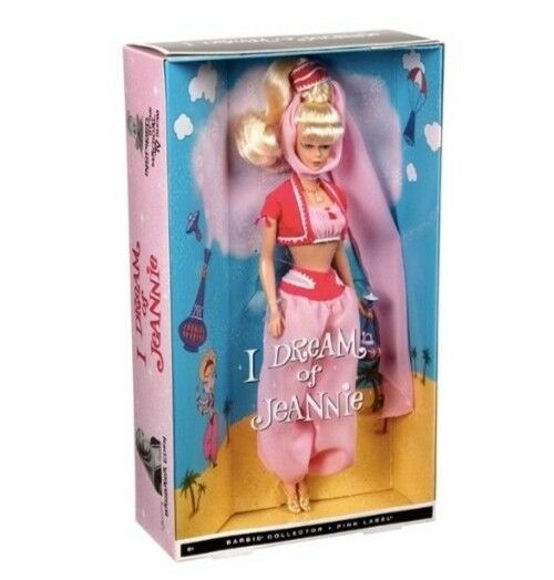 2010 I Dream of Jeannie Barbie.  Vintage Style Barbie Doll.