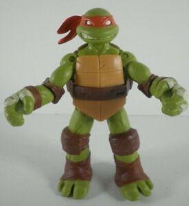 Action Figure TMNT Teenage Mutant Ninja Turtles Michelangelo Playmates 2012