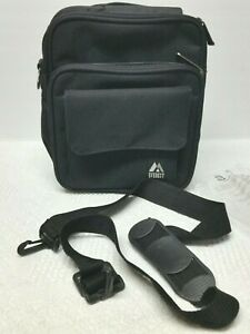 Carry All Everest Bag Black Mini Travel Case For Electronics, Note Book, Bible
