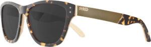 Shred-Lunettes-de-soleil-sport-Marron-Hache-motif-Filter-S3