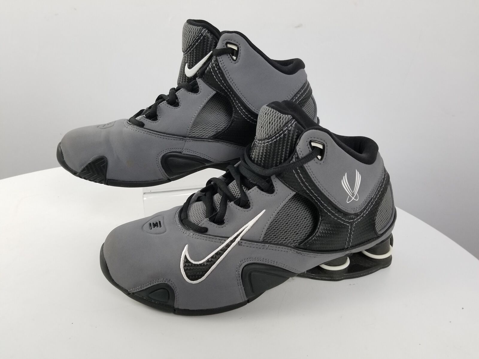 separation shoes bbd33 46b32 Nike Nike Nike Basketball Grey High Tops Size 9 2440e4