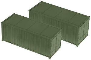 Roco-H0-05100-Minitank-Bausatz-034-Container-2er-Set-Decals-034-1-87-NEU-OVP