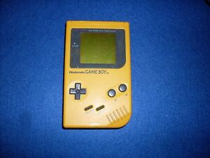 GIOCO-NINTENDO-GAMEBOY-CLASSIC-GIALLO-GAME-BOY