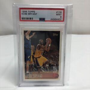 1996-97-Topps-138-Kobe-Bryant-Los-Angeles-Lakers-RC-Rookie-PSA-9-MINT