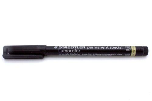 schwarz STAEDTLER Lumocolor Permanent-Marker special 319S