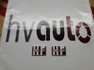 HF-Emblem-Badge-Stemma-Kotfluegel-Fender-Lancia-Delta-HF-Integrale-amp-Evo-Japan-neu