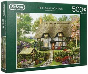 Falcon-Jigsaw-Puzzle-THE-FLORISTS-COTTAGE-500-Pieces