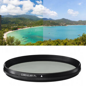 Microfiber Cleaning Cloth for Canon EF-S 55-250mm f//4-5.6 IS CPL 58mm Circular Polarizer Multicoated Glass Filter