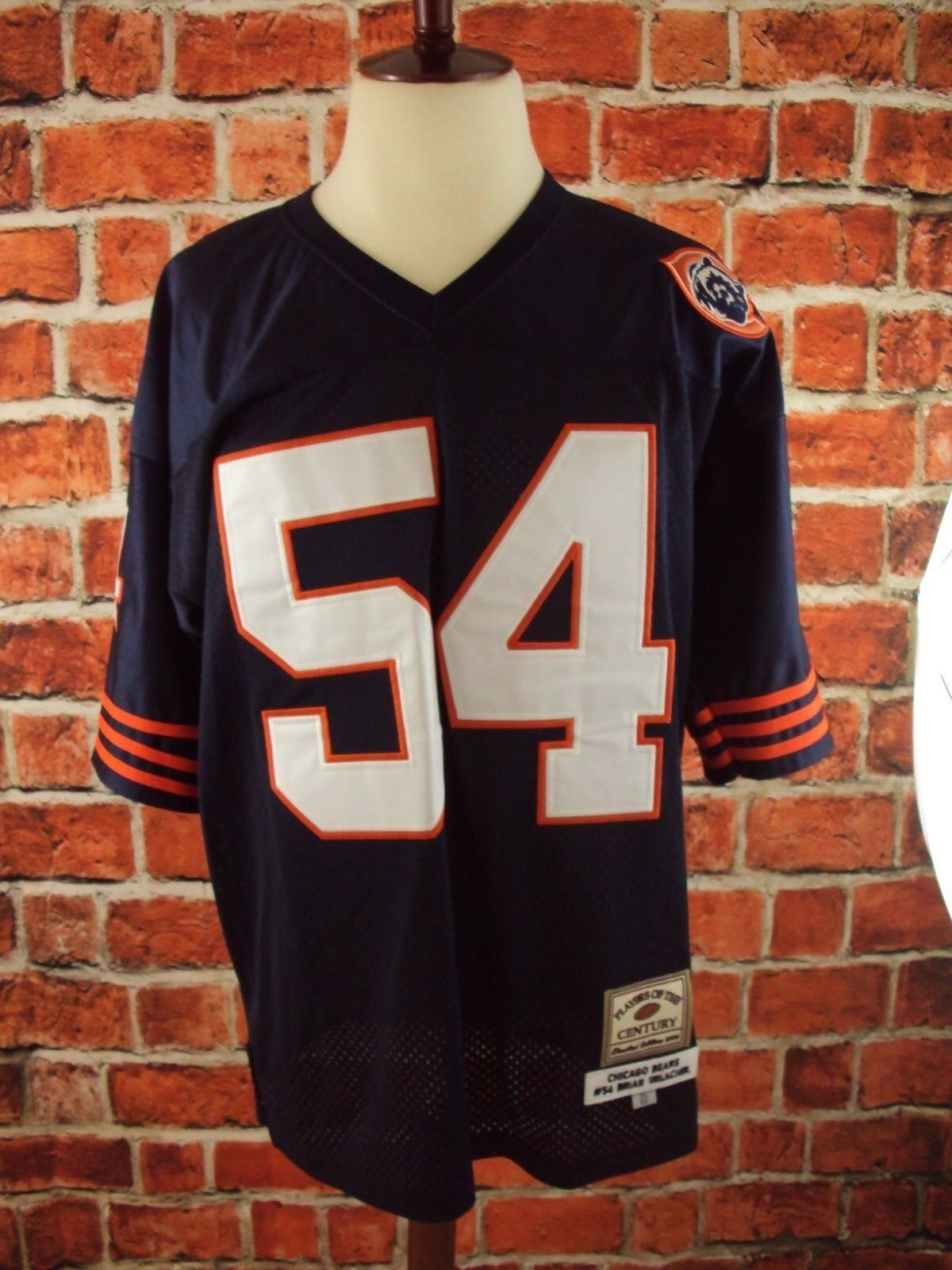 PLAYERS OF THE CENTURY BRIAN URLACHER BEARS STITCHED AUTHENTIC JERSEY EUC   XL52