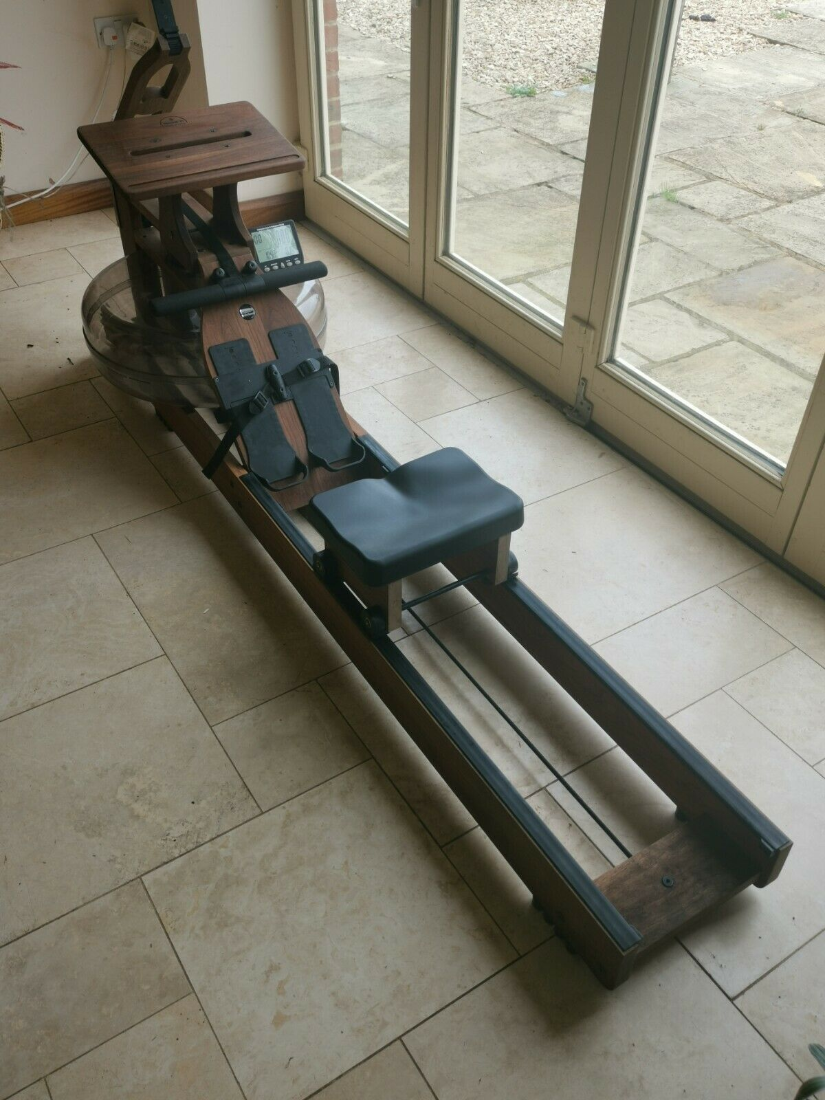 Waterrower Classic Rowing Machine With Desk Attachments Ebay