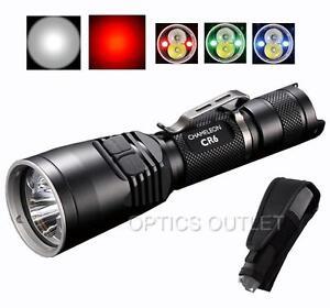 Nitecore-CR6-440-Lumens-White-amp-Red-Hog-Coyote-Hunting-LED-Flashlight-CG6