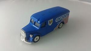 Corgi-Man-Van-Fourgon-Gondolo-Livery-Dark-Blue-Diecast-Model-Van-1-55-Scale