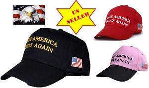 AMRH-Trump-Make-America-Great-Again-Spirit-Baseball-Cap-Hat-American-Flag