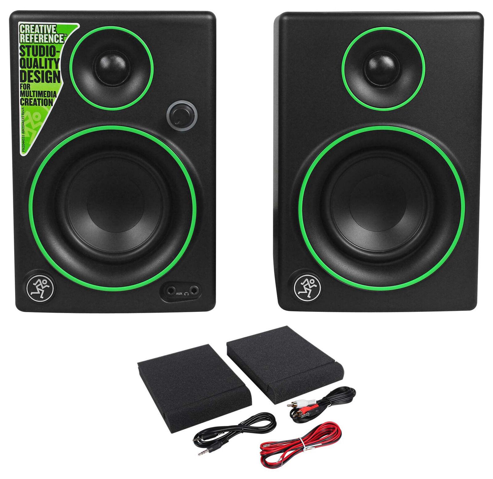 Pair Mackie CR3 3  Creative Reference Multimedia Monitors Speakers (Pair)