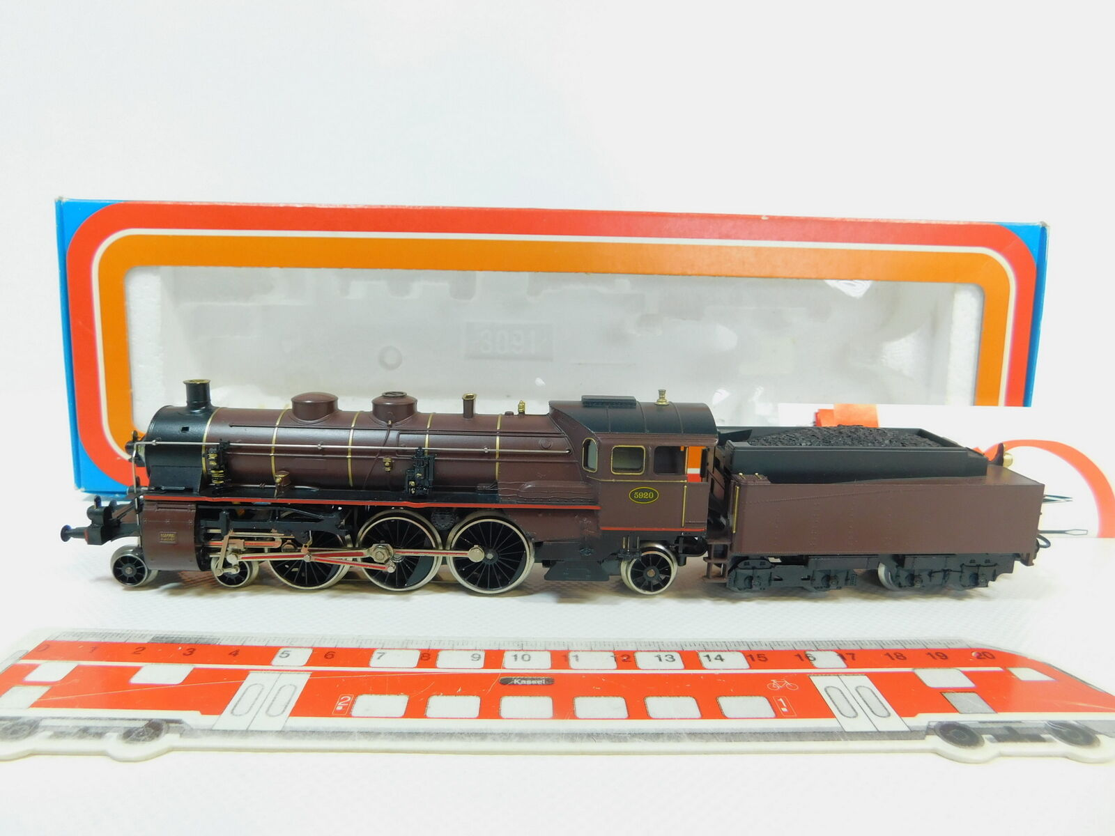 BL138-1Märklin H0 Ac 3111 Steam Locomotive   5920 Sncb , Top + Original Box