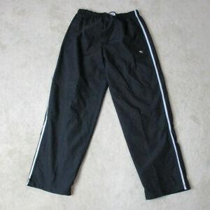 VINTAGE-Champion-Windbreaker-Pants-Adult-Large-Black-Gray-Warm-Up-Mens-90s