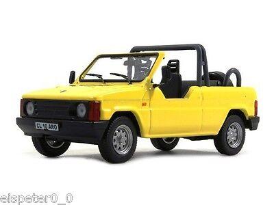 DDR Fahrzeug Auto Modell 1:43 Atlas Magazinmodell IFA F9 Cabrio