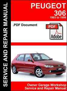 peugeot 306 1993 1999 service and repair manual pdf file ebay rh ebay com haynes manual peugeot 206 download haynes manual peugeot 306