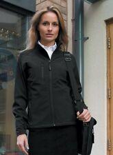 Result La Femme 2 Layer base Softshell Jacket Black Ladies 2XL Size18 Box7478 V
