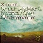 Franz Schubert - Schubert: Sonata in B-flat major, Op. Posth.; Impromptus Op. 90