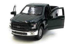 Model-Car-Ford-Raptor-F-150-Pick-up-Truck-Green-Car-1-3-4-39-Licensed