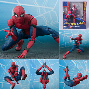 S-H-Figuarts-Marvel-Spider-Man-Homecoming-Spiderman-Hero-Action-Figure-Toys-Gift
